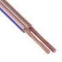 Кабель акустический, 2х0.75 мм², прозрачный BLUELINE, 100 м.  PROCONNECT